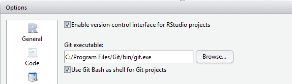 Connecting and using Git & Github for version control with